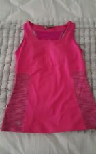 Womens Athleta Workout Top Tank Athletic Yoga Running Medium pink