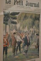 Saint Hélène prisonniers/ Le petit journal sup illustré N°578 / 15 décembre 1901