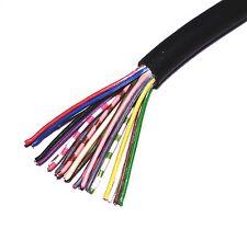1m x Cable souple 20 x 0,14mm2 Noir 7,5mm                                 FI20C4