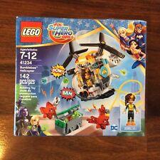 New Lego Super Hero Girls Bumblebee Helicopter Set 41234 Sealed Damage Box