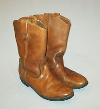 Nice vtg 1970s Men's Red Wing Leather Work Boots size 8 biker riding motorcycle