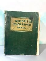 VINTAGE MOTOR'S TRUCK REPAIR MANUEL 16TH EDITION 1963