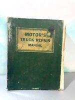 VINTAGE MOTOR'S TRUCK REPAIR MANUEL 16TH EDITION 1963