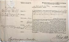 Justice in Lower Canada / 1817 legal document signed by Judge James Reid
