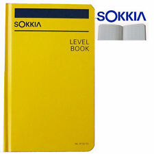 Sokkia 815255 Level Book