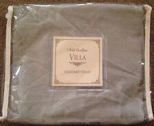Noble Excellence Villa Capri Standard Sham-Sage-NIP-$25 Retail
