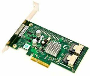 SuperMicro AOC-SASLP-MV8 8-Channel/300MB/s SAS/SATA RAID Adapter Card