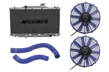 MISHIMOTO Radiator+Fan+Hose Kit Blue 02-06 Acura RSX MT Base/Type-S DC5