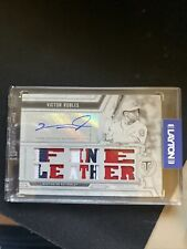 New ListingVictor Robles 2020 Topps Triple Threads White Whale Auto Patch 1 Of 1 Natioanls