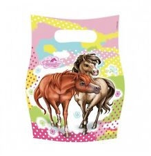 Charming Pony Horse Party Bags Loot Favour Treat Birthday X 6