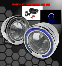 UNIVERSAL ROUND BUMPER HALO FOG LIGHT ACCORD CIVIC DEL SOL CRV FIT PRELUDE S2000