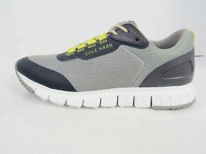 Cole Haan Men's Grandsport Flex Gray Mesh & Leather Fashion Sneakers Size  8.5M