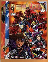 Atomik Angels #1 2 & 3 Crusade Comics NM to NM+