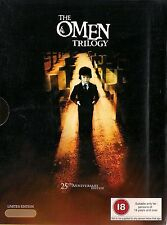 THE OMEN TRILOGY<>25th ANNIVERSARY EDITION<>3 disc box set