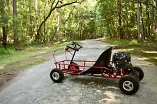 New Kids Gas Go Kart Cart Dune Buggy Race Racing GoKart w/ Hand Controls - Black