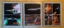 lot of 3 Universal Studios Battlestar Galactica Notebooks - Vin 1978
