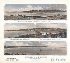 1871 Robinson View of Swampscott, Massachusetts