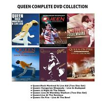 QUEEN MONTREAL LIVE AID BUDAPEST ODEON WEMBLEY STADIUM RAINBOW BOWL CONCERT DVD