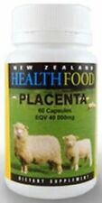 New Zealand Healthfood Ovine (Sheep) Placenta 40,000mg Capsules 60 FREE SHIPPING