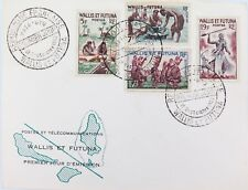 1960 FRENCH COLONY WALLIS ET FUTUNA FDC. NICE CONDITION.
