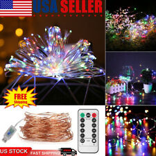 3 Pack LED String Fairy Lights Christmas Decor Waterproof Copper Wire For Xmas