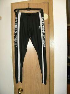 Adidas  Farm 3 Striped Black & White  Legging Size Med