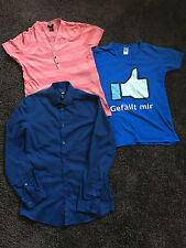 2 T-Shirts + 1 Hemd in Gr. S,  guter Zustand !!!!