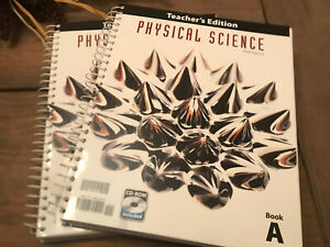BJU Press Physical Science Teacher's Editions