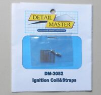 IGNITION COIL & STRAPS 1:24 1:25 DETAIL MASTER CAR MODEL ACCESSORY 3052