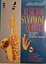 Music Minus One - Soprano Sax: Music For Soprano Sax Quartet
