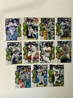2020 Topps Holiday Los Angeles Dodgers Card Lot (11) Gavin Lux RC Rookie