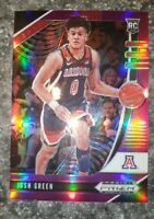 2020-21 Panini Prizm Draft Picks Purple Hobby RC Josh Green Mavericks #61 /75