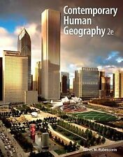 Contemporary Human Geography by James M. Rubenstein and Dorling Kindersley...