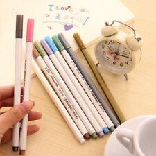 NEW Metallic Pencil Set Doodle Marker Album Sketch Water Color Drawing Brush Pen