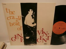 "GENE VINCENT ""crazy beat of gene vincent""lp12""fra.capitol;de 1976.mono"