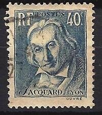 France 1934 Joseph Marie Jacquard Yvert n° 295 oblitéré 1er choix (1)