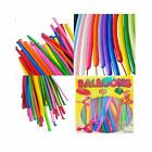 100 X Assorted Modelling Balloons Latex Professional Twisting Kids Party Decor