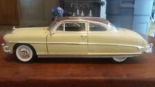 1:18 diecast cars Hudson Hornet coupe  two tone paint very detailed