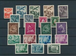 LN23337 Slovakia mixed thematics nice lot of good stamps MNH