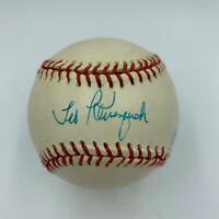 Beautiful Ted Kluszewski Single Signed Autographed Baseball With PSA DNA COA