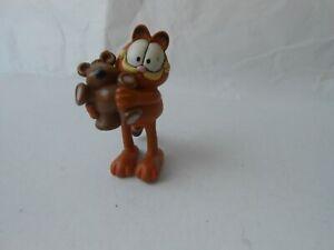 Figurine BD Garfield avec ours plastoy