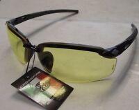 Radians 2955 Crossfire Safety Glasses Amber Lens