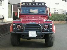 land rover defender 7'' Red LED Head Lights great quality Kit Car Classic Mini
