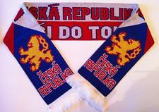 CZECH REPUBLIC Football Scarves NEW from Superior Acrylic Yarns