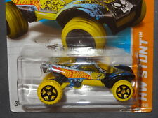 HW HOT WHEELS 2013 HW STUNT #89/250 DA'KAR DUNE BUGGY HOTWHEELS BLUE/YELLOW VHTF