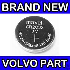 VOLVO S80 II, V70 III, XC60, S60, V60, NEW V40 REMOTE FOB BATTERY