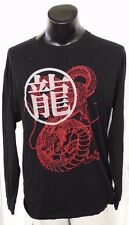 Dragon Ball Z Shenron Black Long Sleeve T Shirt Large Loot Crate Level Up Rare
