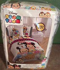 Disney TSUM TSUM Super Soft Microfiber Twin Comforter Childrens Bedding NEW