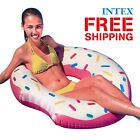 """42"""" x 39"""" Intex Inflatable Donut Pool Float Tube, Summer Fun Water Toy Relax"""