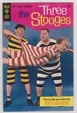 THE THREE STOOGES #44 FINE+ 1969 GOLD KEY